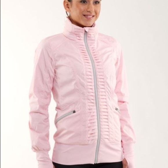 lululemon athletica Jackets & Blazers - LULULEMON Run: Back On Track Jacket - Pink Pig